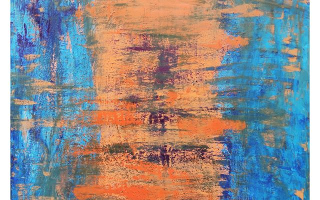 The Second Chakras abstract informal acrylic