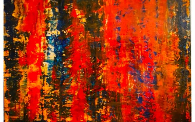 Abstract informal acrylic - After Hope