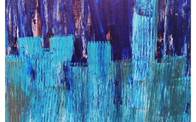 Abstract informal - acrylic - After Legend