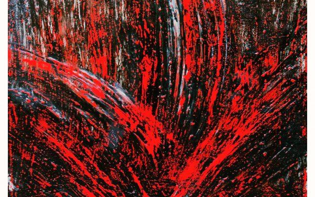 Abstract informal - acrylic - Carnivorous