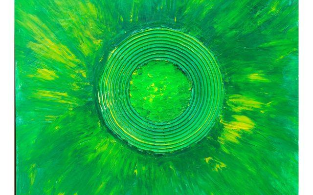 Abstract informal acrylic - Eden