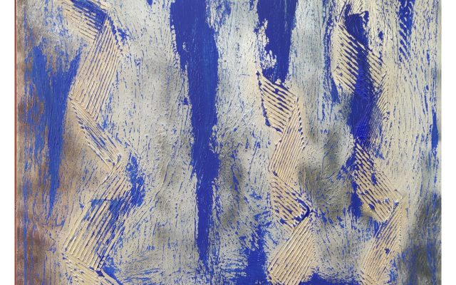 Abstract informal acrylic - Follow Me