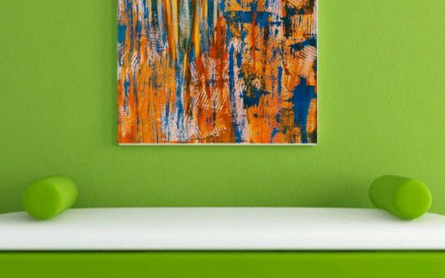 Abstract informal acrylic - Jazz Club