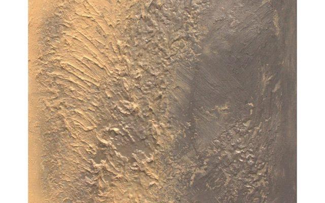 Abstract informal on canvas - Deserto