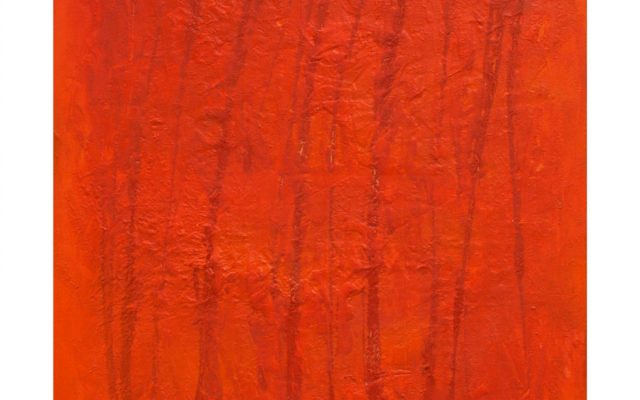 Abstract informal on canvas - The Passion