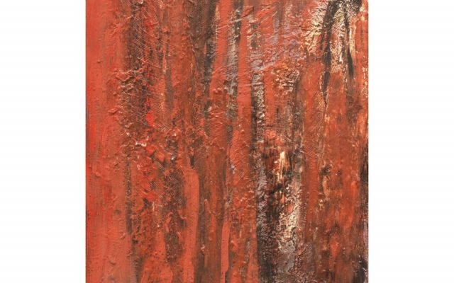 Abstract informal on canvas - The World of Art