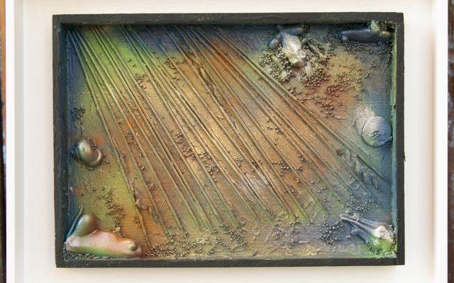 Wood collage art - Everglades