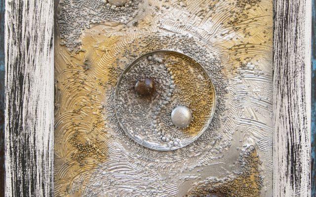 Wood collage art - Garbuglio Gallatico 1