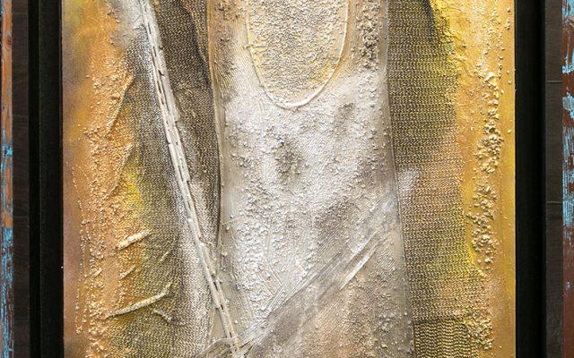 Wood collage art - L Amante piu Fedele