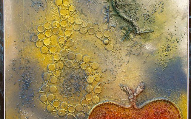 Wood collage art - SEVEN SIN