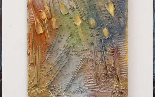 Wood collage art - Summer Wish